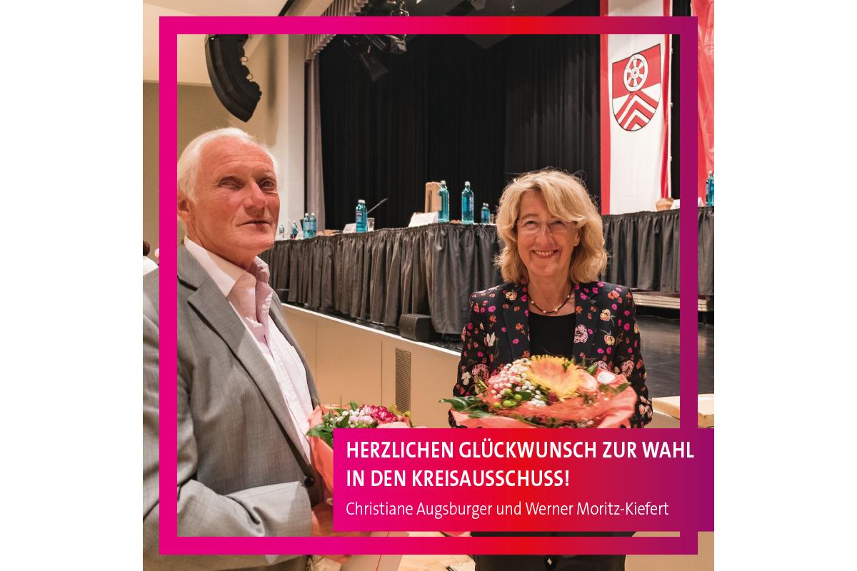 Werner Moritz-Kiefert und Christiane Augsburger